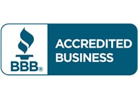 Accredited by the Better Business Bureau.